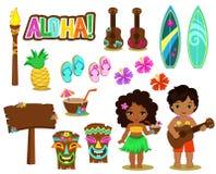 Free Vector Illustration Hawaiian Collection. Stock Photo - 72366400