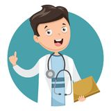 Vector Illustration Of Health Care And Medical. Eps 10 Royalty Free Stock Photo