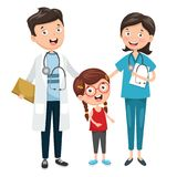 Vector Illustration Of Health Care And Medical. Eps 10 Royalty Free Stock Photos