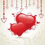 Vector illustration of heart shape Stock Photos