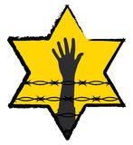 Holocaust symbol Royalty Free Stock Images