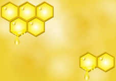 BG Honeycomb Royalty Free Stock Photo
