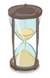 Vector illustration of hourglass Stock Images