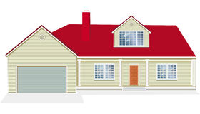 Vector Illustration of house Royalty Free Stock Images