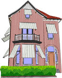 Vector illustration house Royalty Free Stock Photo