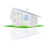 Vector illustration of a house Royalty Free Stock Photography