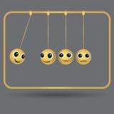 Vector illustration.  Impac business goals concept. Impac communication business goals concept. Vector illustration Stock Images