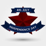 Vector illustration independence day usa Royalty Free Stock Images