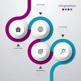 Vector illustration infographics Royalty Free Stock Photo