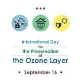 Ozone layer day Stock Photos