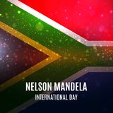 Vector illustration for International Nelson Mandela Day. Vector Stock Photos