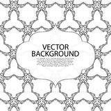 Vector illustration invitation light linear background Stock Images