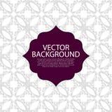 Vector illustration invitation light linear background Royalty Free Stock Photography