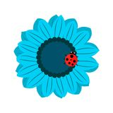 Vector illustration of isolated blooming Stock Photo