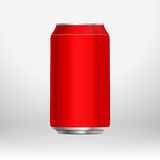 Red can Royalty Free Stock Photography