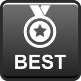 Best seller button Stock Photography