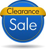 Clearance sale web button stock images