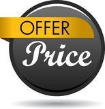 Special offer web button icon. Vector illustration isolated on white background - Special offer web button icon Royalty Free Stock Image