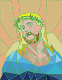 Vector - Illustration of Jesus Christ Royalty Free Stock Photo