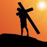 Vector illustration of Jesus. Stock Photo