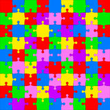 Vector Illustration jigsaw puzzle Royalty Free Stock Photos