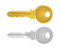 Vector illustration of key Stock Photos