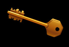 Vector illustration of a key Stock Photo