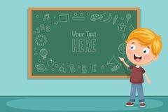 Vector Illustration Of Kids Classroom. Eps 10 Stock Photo