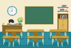 Vector Illustration Of Kids Classroom. Eps 10 Stock Image