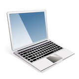 Vector illustration of laptop Royalty Free Stock Photography