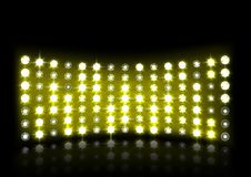 Led projection screen. Vector illustration of Led projection screen Royalty Free Stock Photos