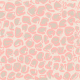 Vector illustration Leopard print seamless pattern. Beige and pink background. Vector illustration Stock Photography