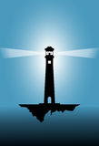 Vector illustration of a lighthouse Royalty Free Stock Photography