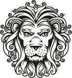 Lion head symbol Stock Photo