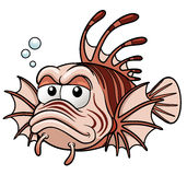 Lionfish cartoon Stock Photo