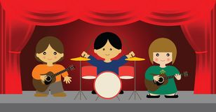 Live Band Royalty Free Stock Images