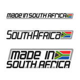 Vector illustration logo `made in South Africa` Stock Images