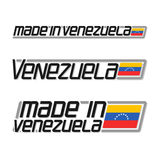 Vector illustration logo `made in Venezuela` Royalty Free Stock Photography