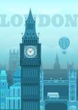 Vector illustration London Royalty Free Stock Photography