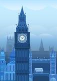 Vector illustration London Royalty Free Stock Photos