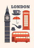 Vector illustration London Stock Photo