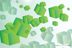 Vector illustration a lot of squares Royalty Free Stock Image