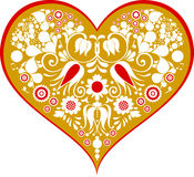 Vector Illustration of love card Royalty Free Stock Images