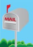 Vector illustration of a mailbox Stock Photos