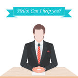 Vector Illustration of Manager Stock Images
