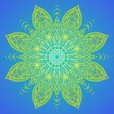 Vector illustration of mandala design Royalty Free Stock Photo