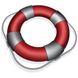 Red lifebuoy Royalty Free Stock Image