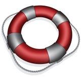 Red lifebuoy Royalty Free Stock Image