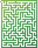 Vector illustration of maze Stock Image