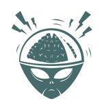 Vector illustration of mega brain Stock Photos